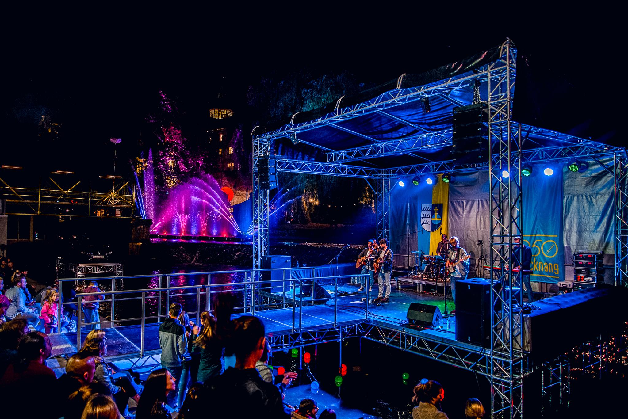 Murr-Spektakel Backnang - Bühne
